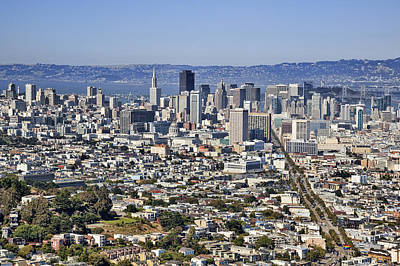 San Francisco View Art Print by Kelley King