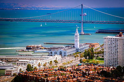 San Francisco Waterfront Art Print by Celso Diniz