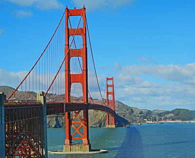 San Francisco's Golden Gate Bridge Art Print
