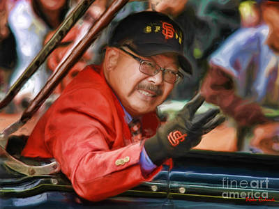 Photograph - San Francisco's Mayor Ed Lee by Blake Richards