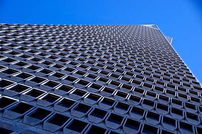 Photograph - San Francisco's Pyramid Closeup by Eric Tressler