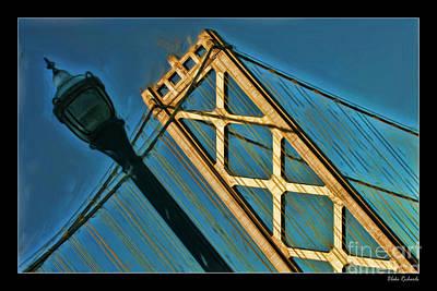 Photograph - San Francisico Bay Bridge And Light by Blake Richards