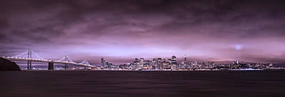 San Fransisco Photograph - San Fransisco Cityscape Panorama by Brad Scott