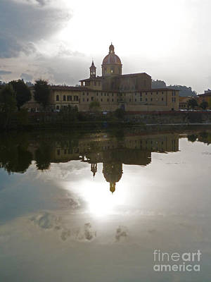 Photograph - San Frediano In Cestello - Florence by Phil Banks