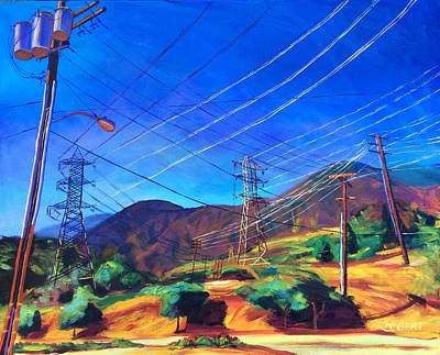 Painting - San Gabriel Power by Bonnie Lambert