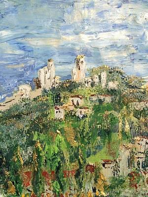 San Gimignano Painting - San Gimignano 3 by Julene Franki