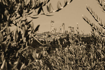 Photograph - San Gimignano II by Nigel Fletcher-Jones