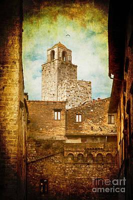 Photograph - San Gimignano Italy by Silvia Ganora