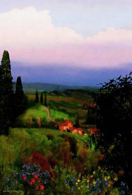 Painting - San Gimignano by Patrick J Osborne
