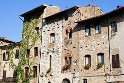 San Gimignano, Unesco World Heritage Art Print by Nico Tondini