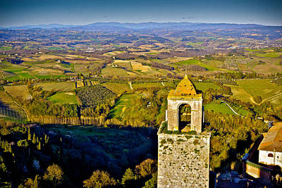 Photograph - San Gimignano by Walt  Baker