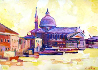 San Giorgio II Art Print by Filip Mihail