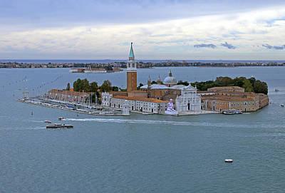 Photograph - San Giorgio Maggiore by Tony Murtagh