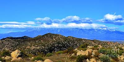 Photograph - San Gorgonio Snow Cap by Third Eye Perspectives Photographic Fine Art