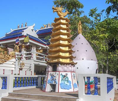 Photograph - San Jao Cham Cheju Hut Firecracker Pagodas Dthp0481 by Gerry Gantt