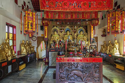 Photograph - San Jao Cham Cheju Hut Principal Shrine Interior Dthp0475 by Gerry Gantt