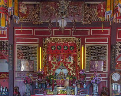 Photograph - San Jao Sam San Principal Altar Dthp0502 by Gerry Gantt