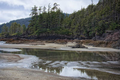San Josef Bay Reflections Art Print