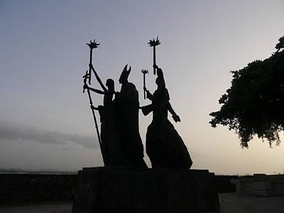 La Rogativa Photograph - San Juan - La Rogativa Silhouette by Richard Reeve