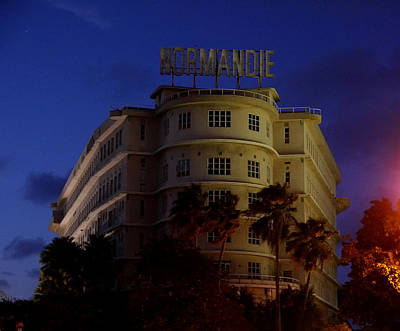 Photograph - San Juan - Normandie Hotel by Richard Reeve