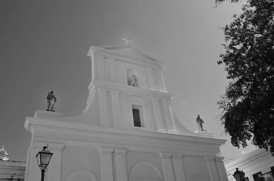 Photograph - San Juan Bautista- Black And White by Shanna Hyatt