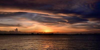 Print featuring the photograph San Juan Bay by Ricardo J Ruiz de Porras