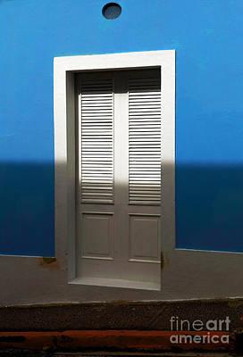 San Juan Blue Art Print by John Rizzuto
