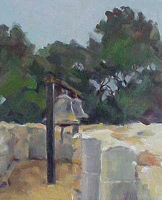 California Missions Painting - San Juan Capistrano Bells by Karla Bartholomew