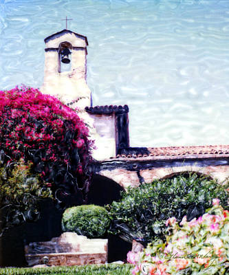Photograph - San Juan Capistrano Court Yard by Glenn McNary