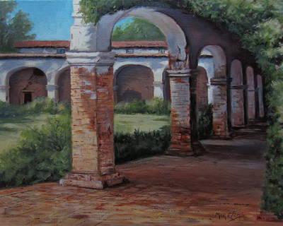 Painting - San Juan Capistrano  by Mar Evers