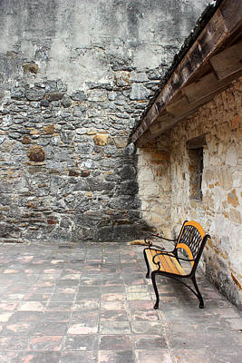 Photograph - San Juan Courtyard by Mary Bedy