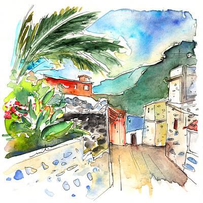 House Plant Drawing - San Juan De La Rambla 04 by Miki De Goodaboom