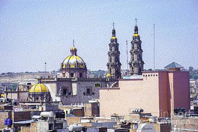 Photograph - San Juan De Los Lagos Roofs by Claudia Ellis