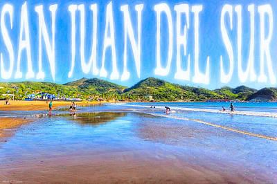 Photograph - San Juan Del Sur - Nicaragua by Mark E Tisdale