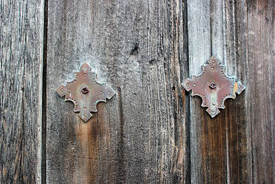 Photograph - San Juan Door Decoration by Mary Bedy