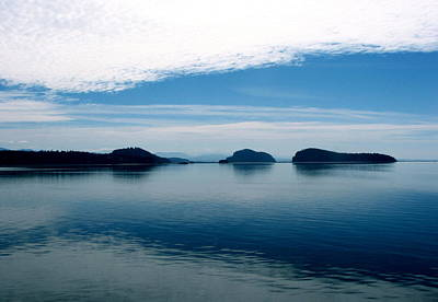 Photograph - San Juan Islands by Jan Cipolla