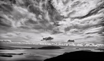 Photograph - San Juan Islands Morning by Don Schwartz