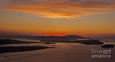 Anacortes Photograph - San Juan Islands Peaceful Evening by Mike Reid