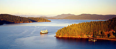 Baker Island Photograph - San Juan Islands Washington Usa by Panoramic Images