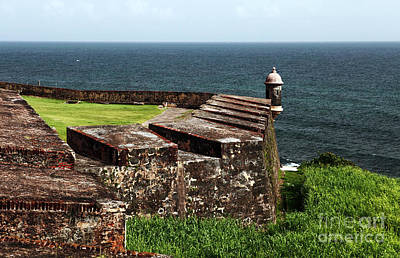 San Juan Lookout Art Print by John Rizzuto