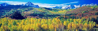 San Juan Mountains, Colorado, Usa Art Print by Panoramic Images