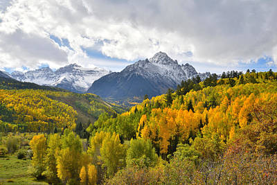 Photograph - San Juan Mountains Fall by Ray Mathis