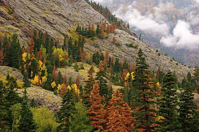Photograph - San Juan Mountains In Autumn by Daniel Woodrum