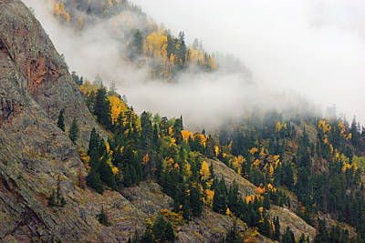 Photograph - San Juan Mountains In Autumn No.4 by Daniel Woodrum