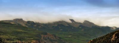 San Juan Mountian Range Art Print