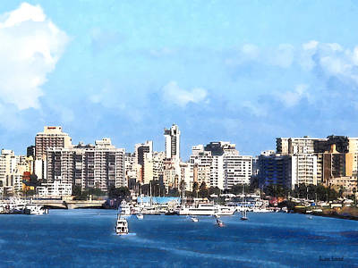 Photograph - San Juan Skyline by Susan Savad