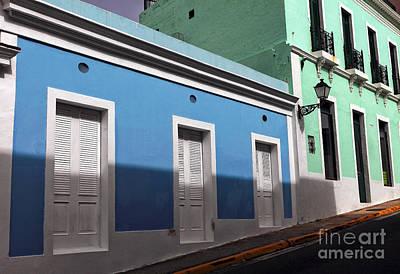 San Juan Street Colors Art Print by John Rizzuto