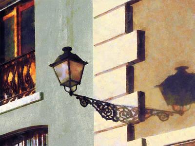 Photograph - San Juan Street Lamp by Susan Savad