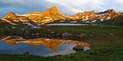 Photograph - San Juan Sunrise - Colorado  by Aaron Spong