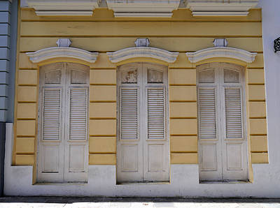 Photograph - San Juan - Three Doors by Richard Reeve